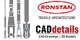Ronstan Tensile Architecture CAD Drawings & Specifications